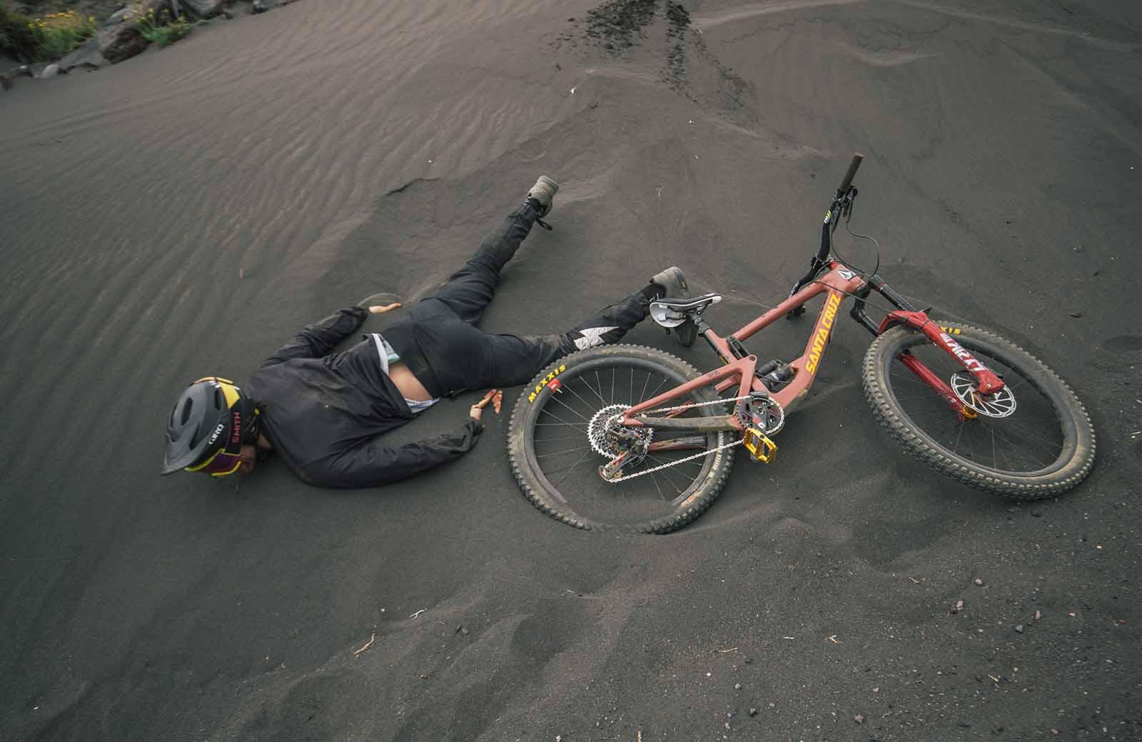 Santa Cruz Bronson trail bike
