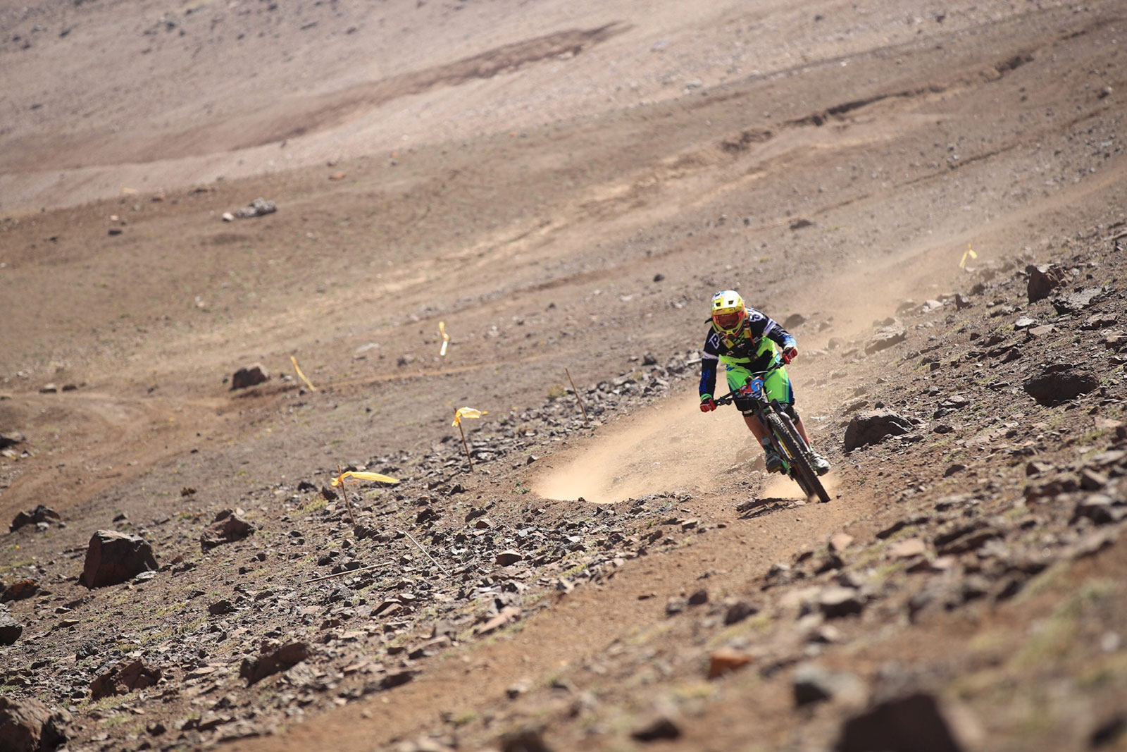 Cedric Gracia on Stage 1 of Andes Pacifico 2017