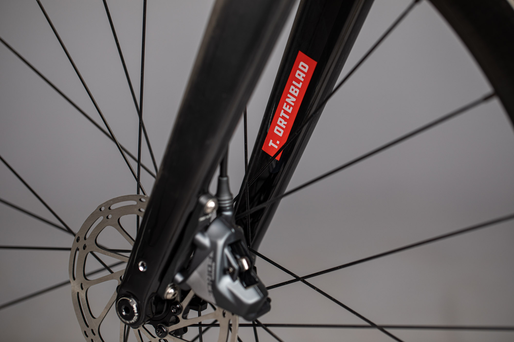 Santa Cruz Bicycles - Tobin Ortenblad's Custom Stigmata Cyclocross Race Bike - Fork Detail