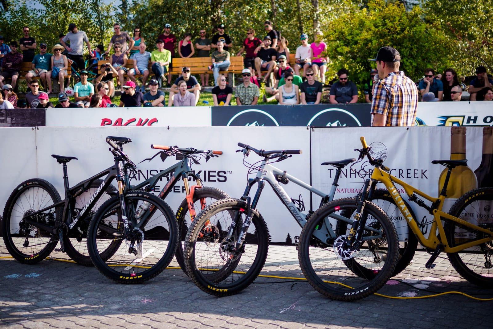Santa Cruz Bicycles - Line'em Up for Singletrack6 Start