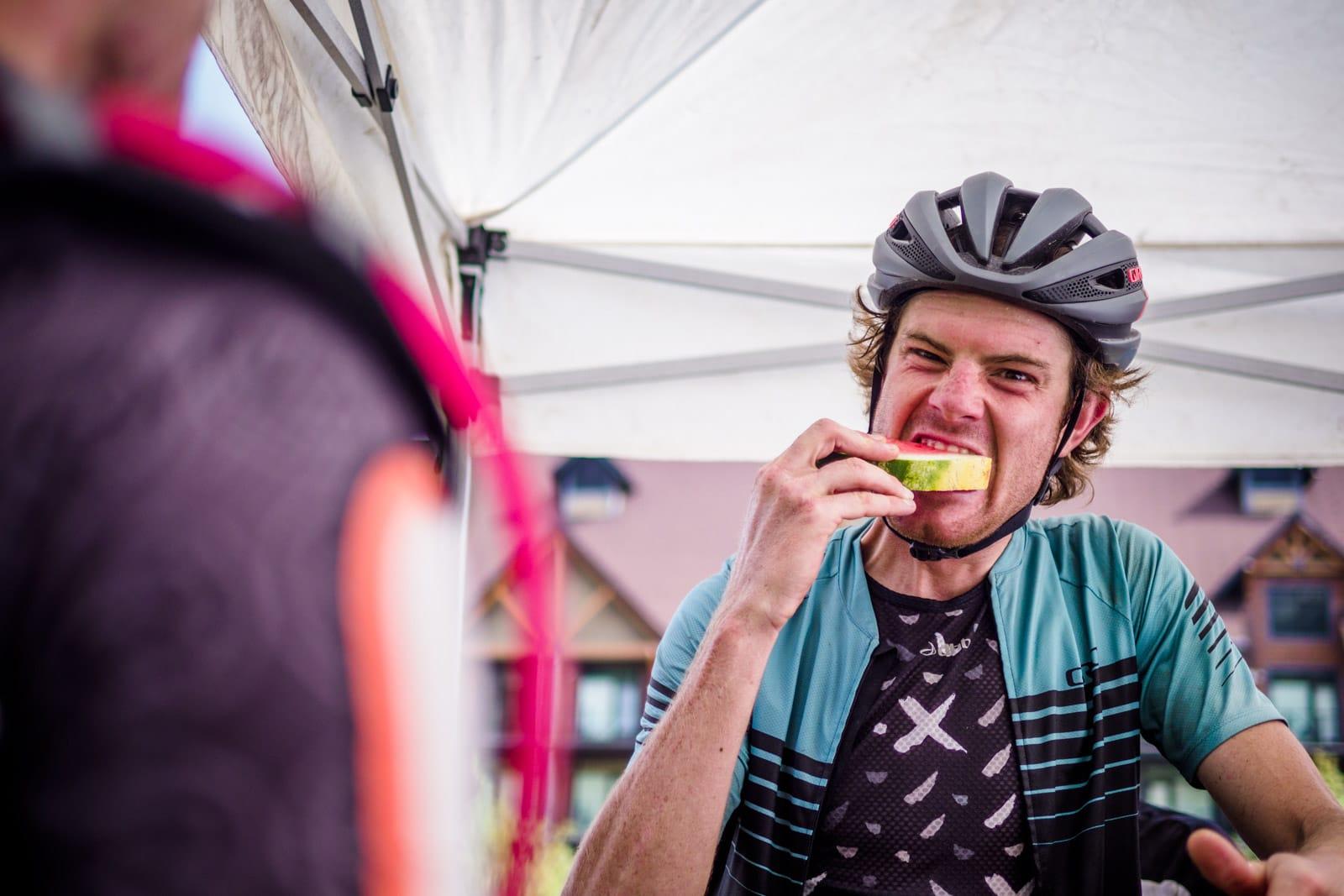 Santa Cruz Bicycles - Race Nutrition at Singletrack 6 in Canada
