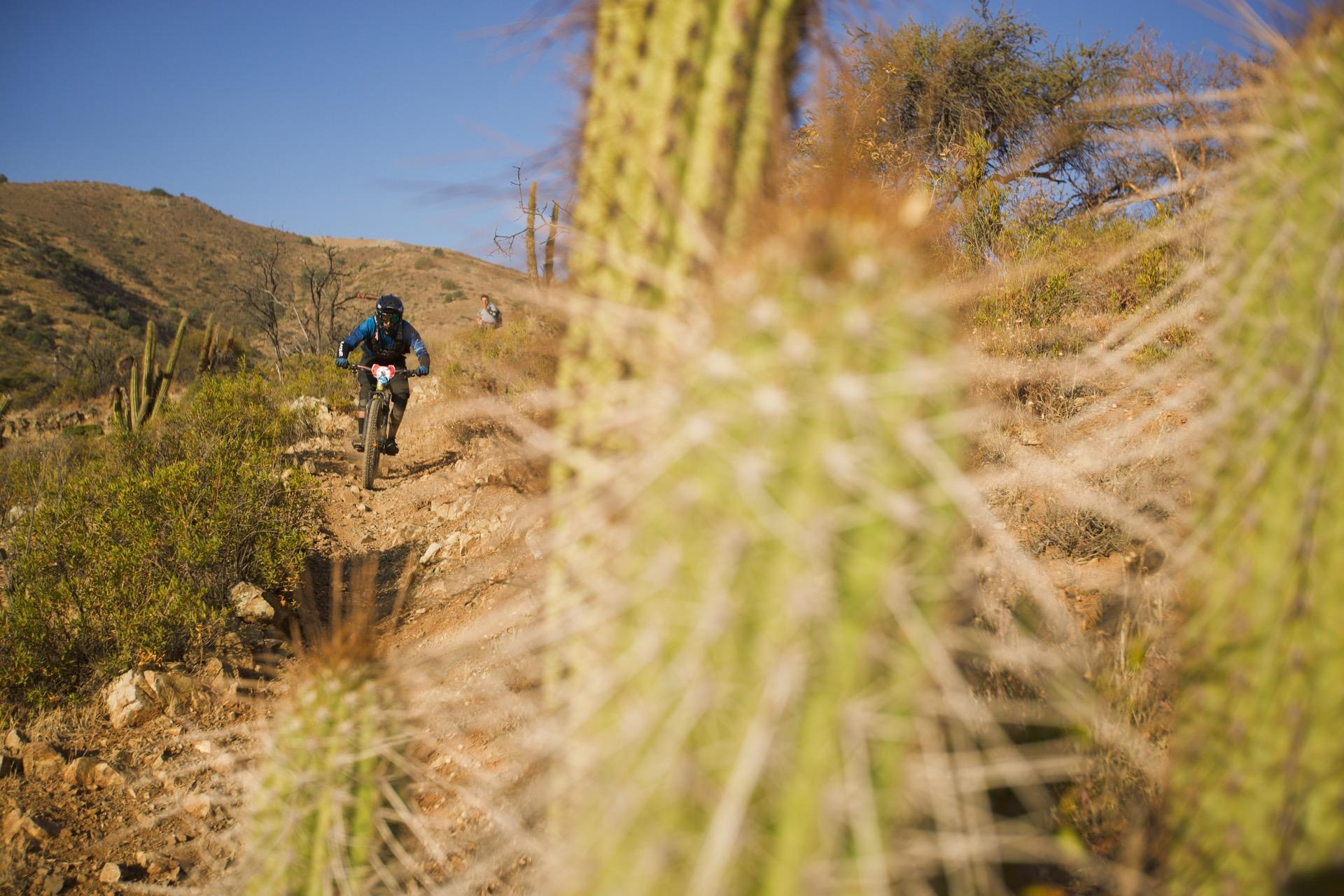 Santa Cruz Bicycles - Iago Garay at Andes Pacifico 2018