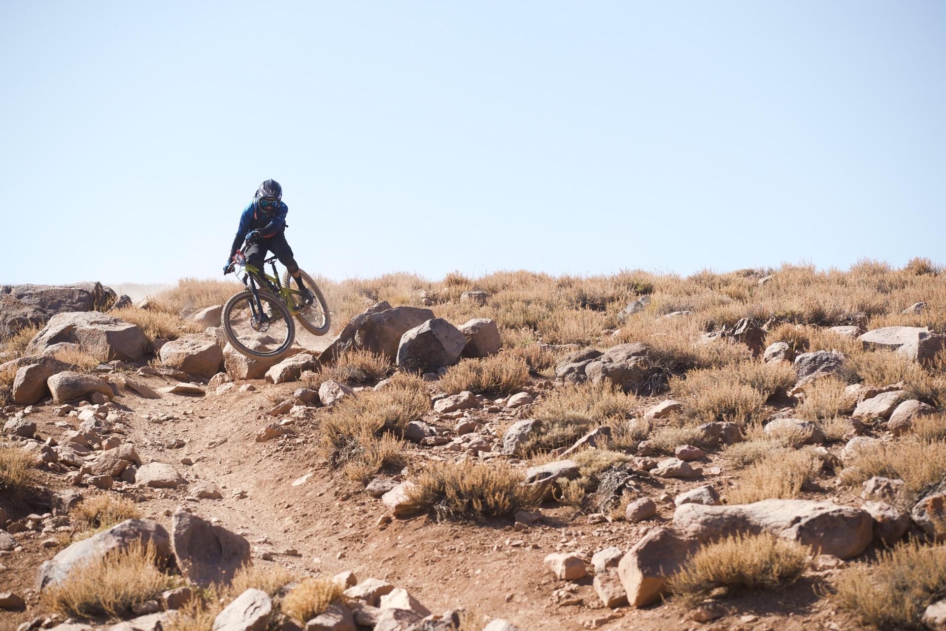 Santa Cruz Bicycles - Iago Garay at Andes Pacifico