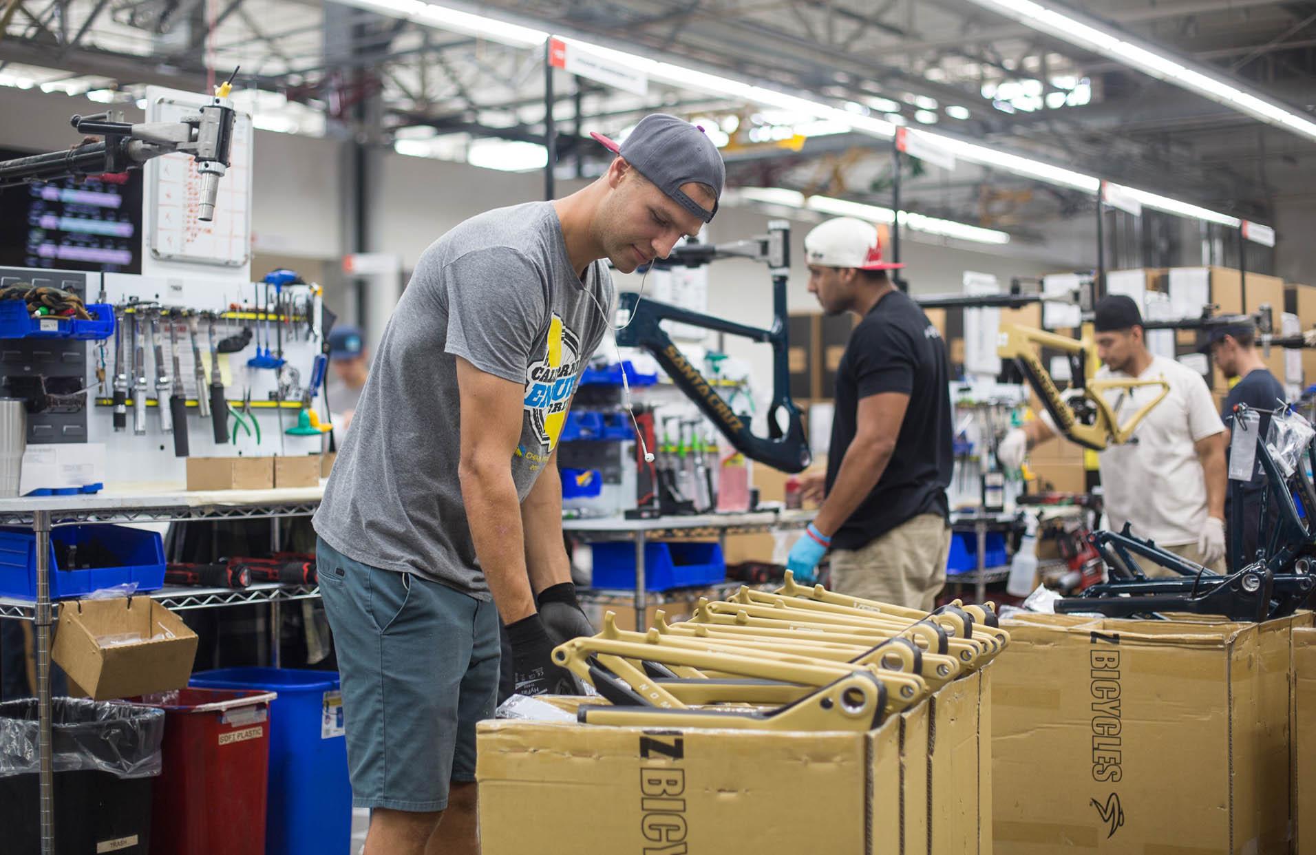 Santa Cruz Bicycles - About Us Factory