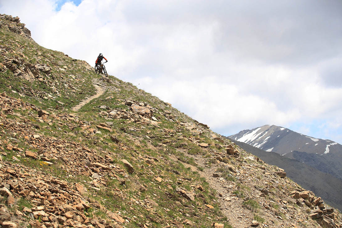Esben Kronborg on Riding Out of Col d'Orres during the Trans-Provence