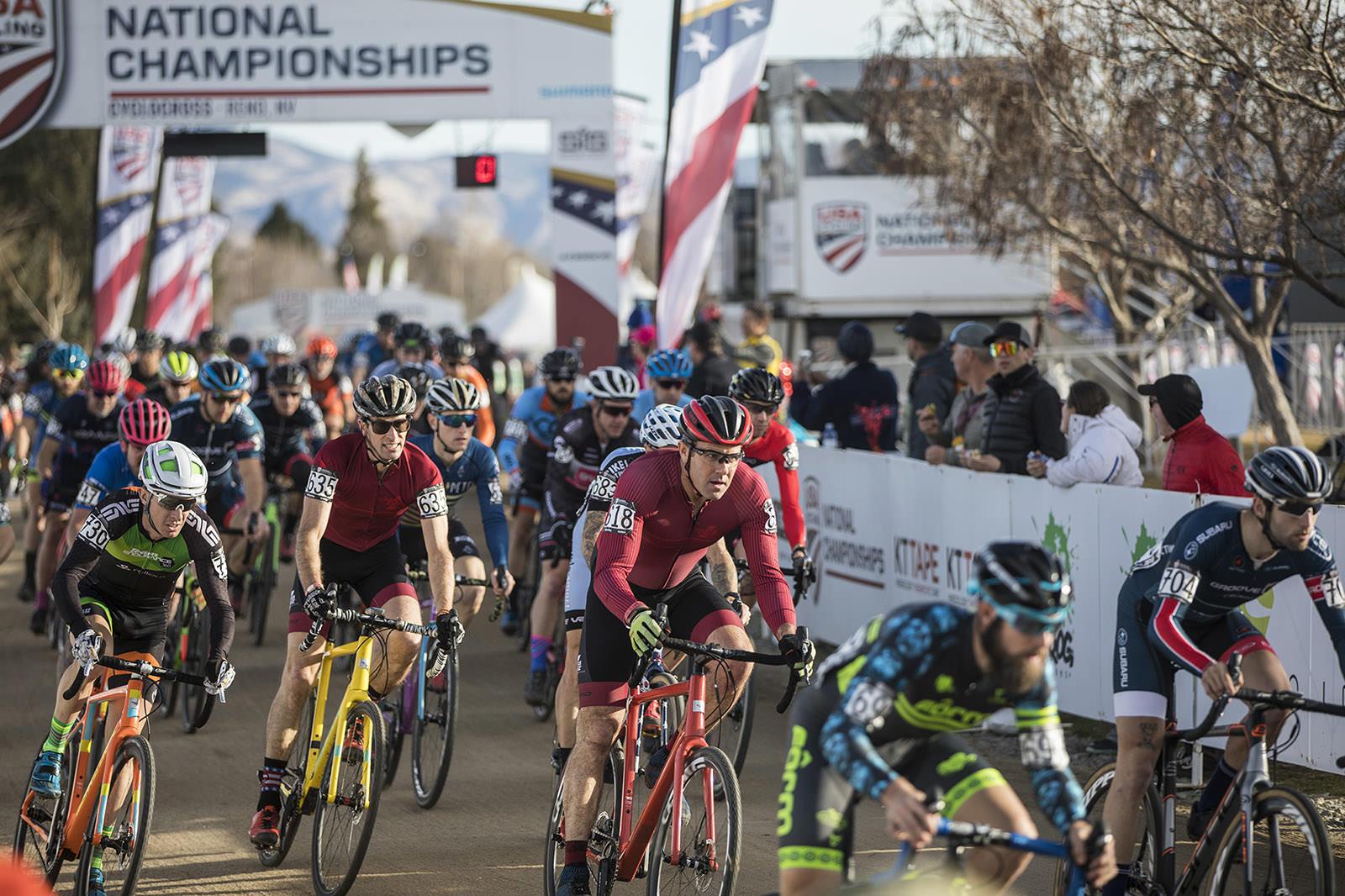 Justin Robinson and Scott Chapin - Santa Cruz Bicycles - Cyclocross National Championships