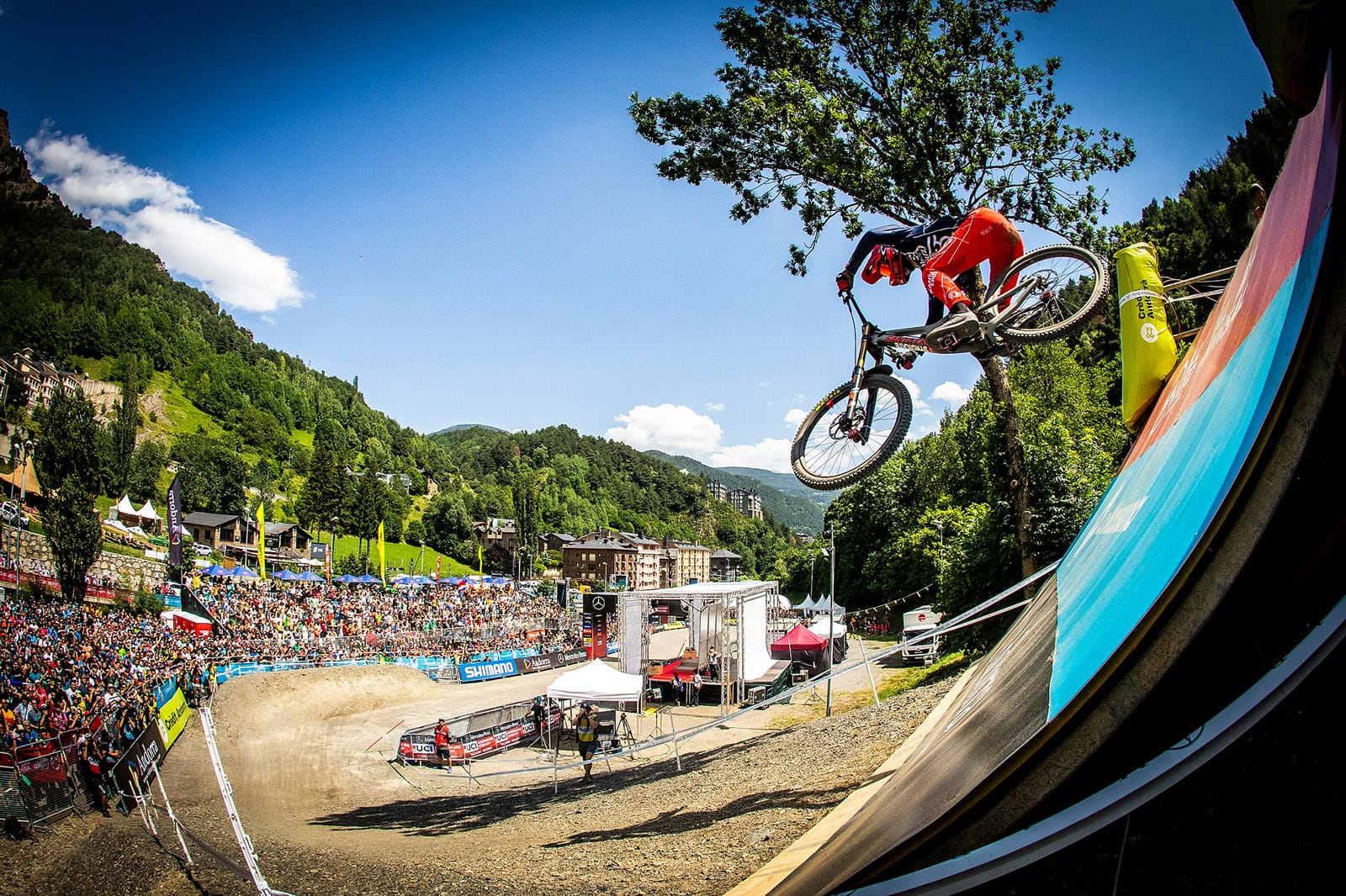 Santa Cruz Bicycles - The Syndicate at World Cup 5 in Andorra