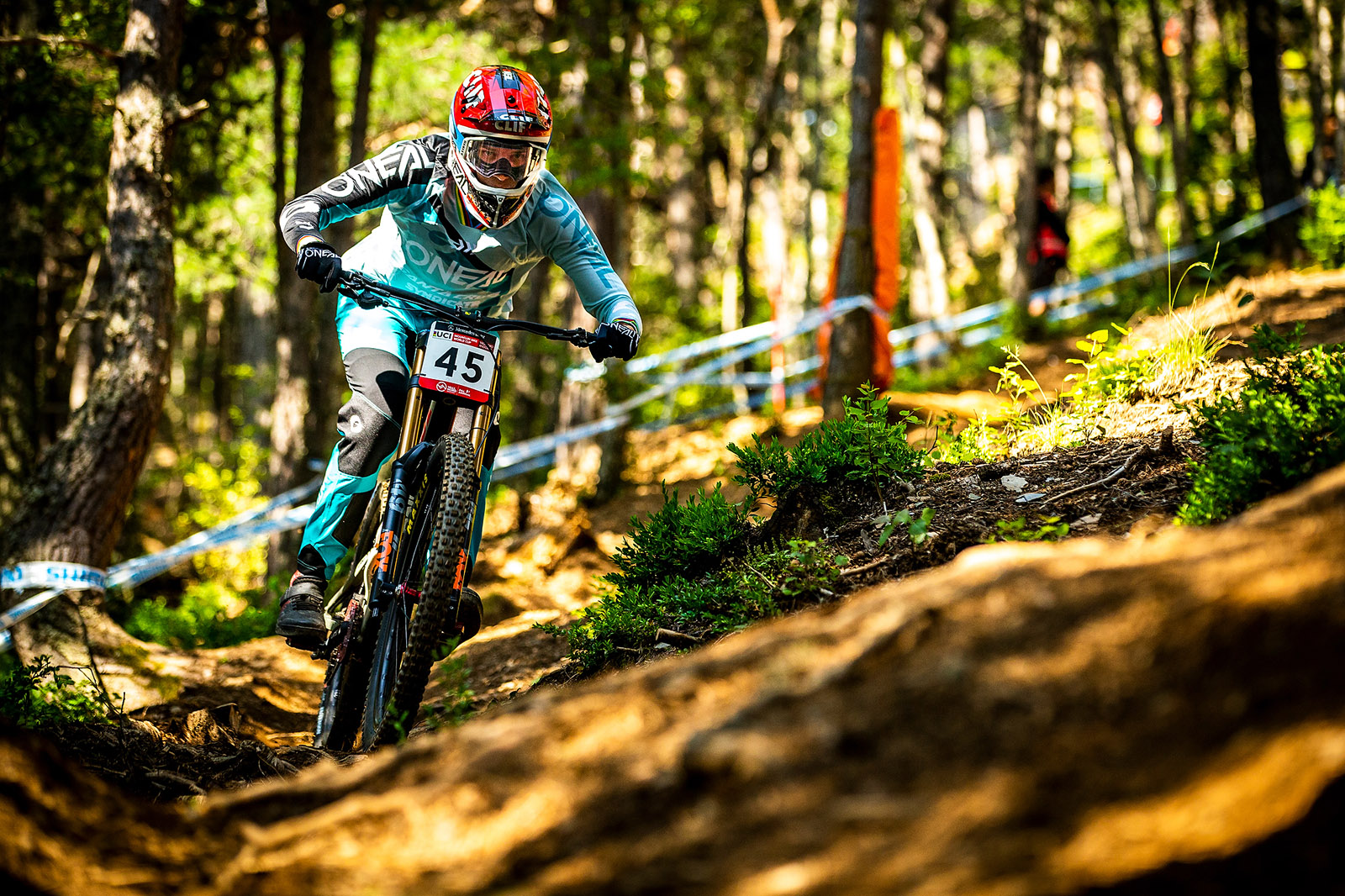 Santa Cruz Bicycles - The Syndicate at World Cup 5 at Andorra