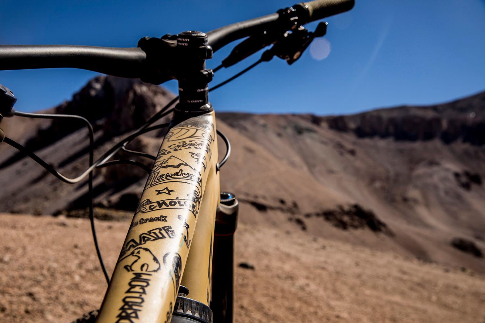 Santa Cruz Bicycles - DYED at EWS 2018 Round One in Chile