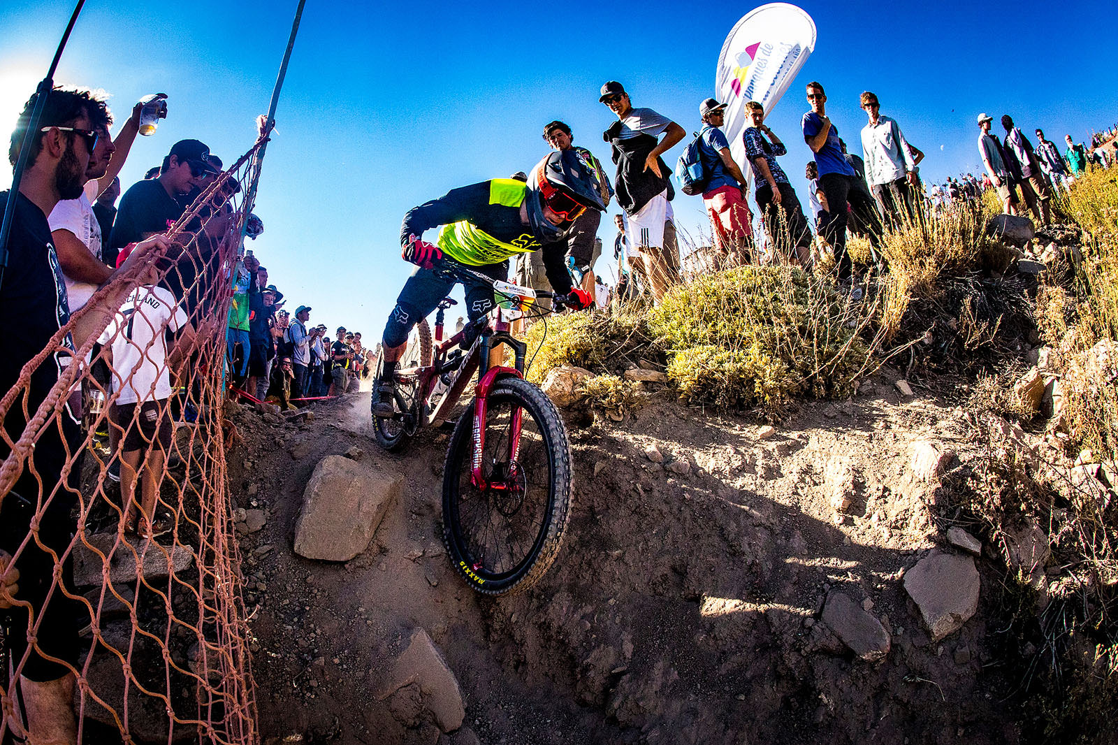 Santa Cruz Bicycles - Mark Scott at EWS 2018 Round One Chile