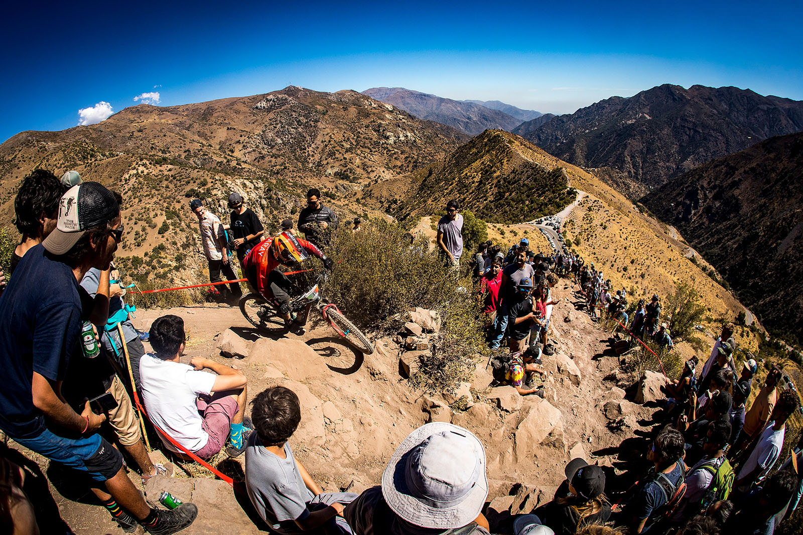 Santa Cruz Bicycles - The Crowd Knows Where the Action Is at EWS Round One in Chile