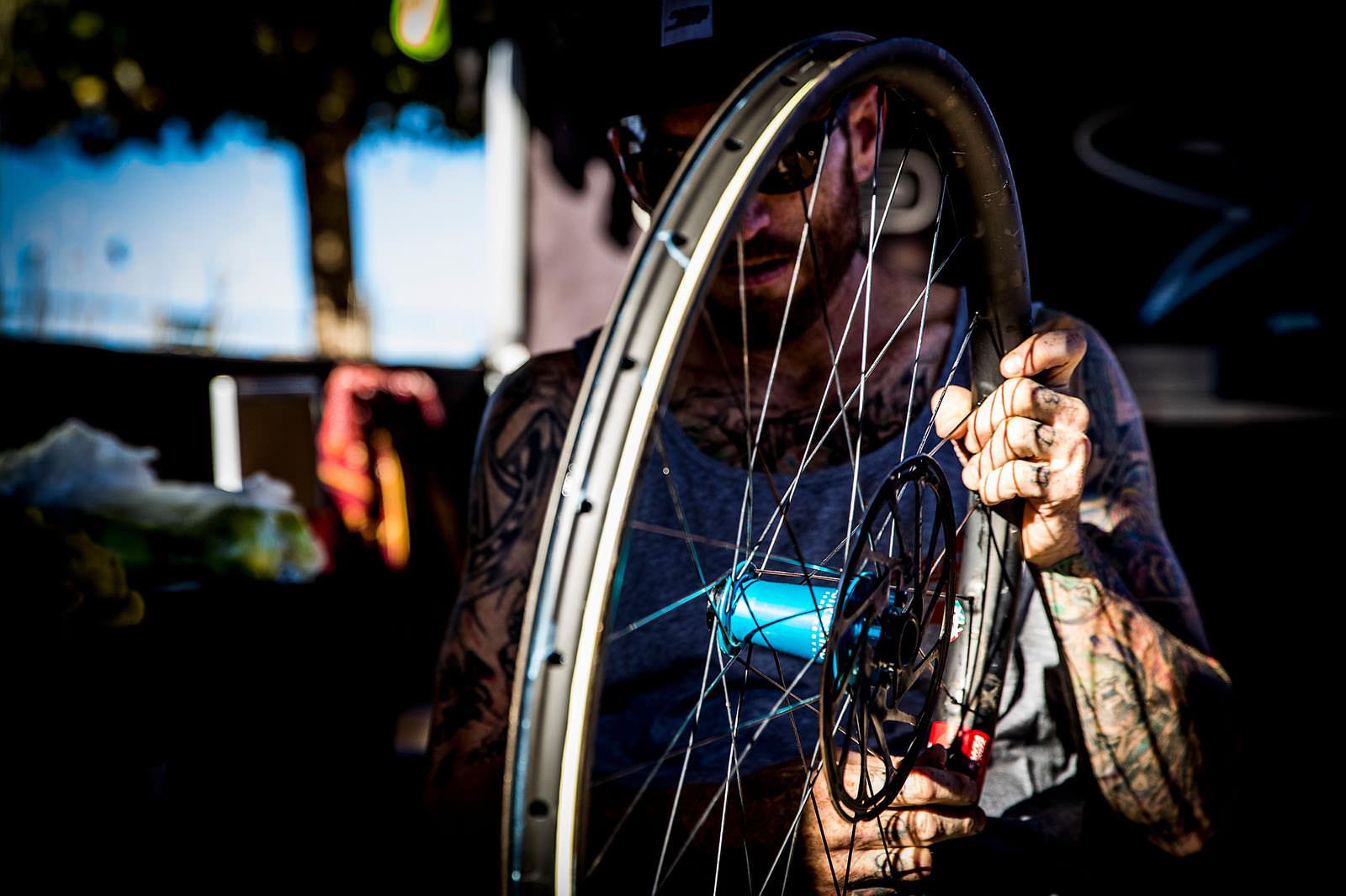 Santa Cruz Bicycles - Wheel Love in Chile for EWS 2018 Round One