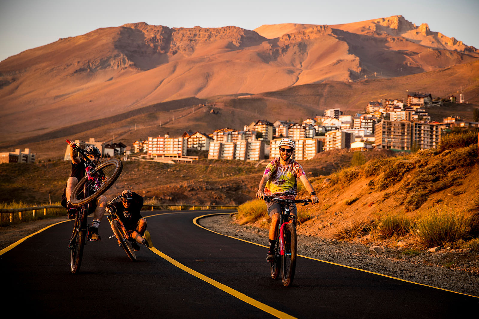Santa Cruz Bicycles - Iago Garay, Josh Lewis, and Josh Bryceland in Chile