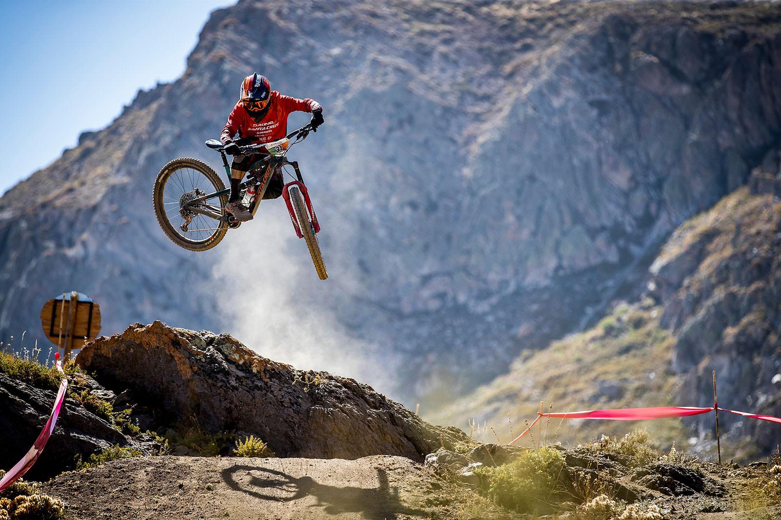 Santa Cruz Bicycles - Iago Garay of Santa Cru X SRAM Enduro Team Making It Look Easy in Chile