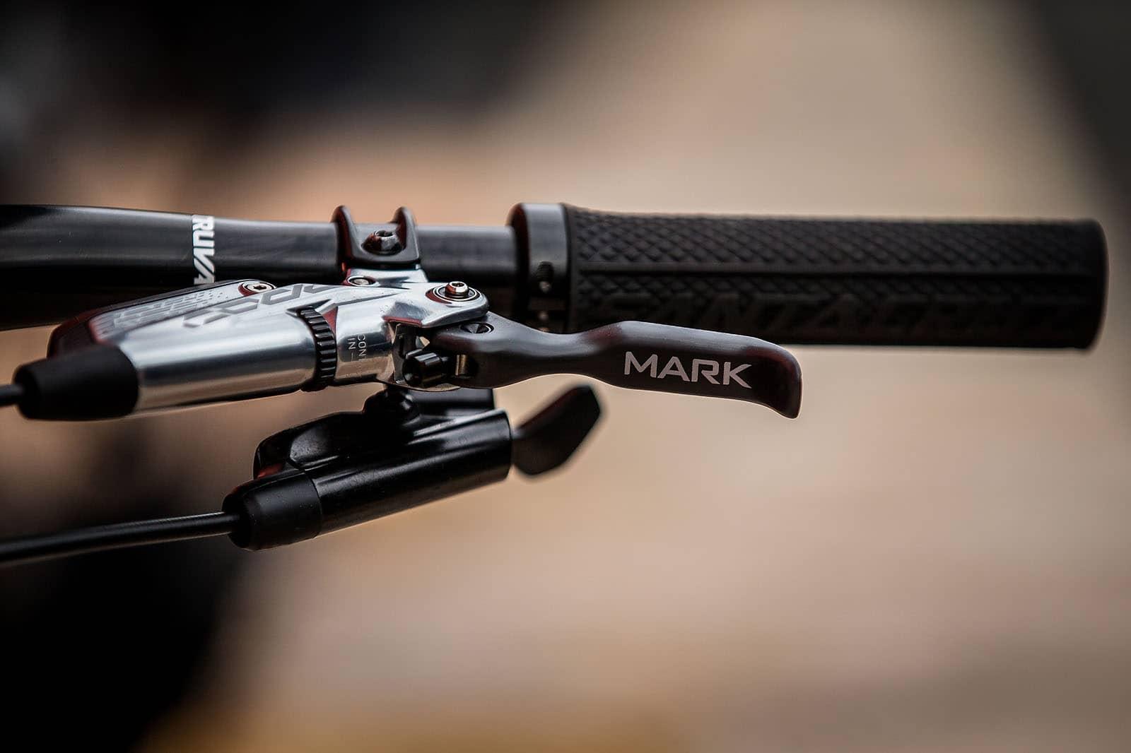 Santa Cruz Bicycles - Custom touches on Mark Scott's Hightower LT