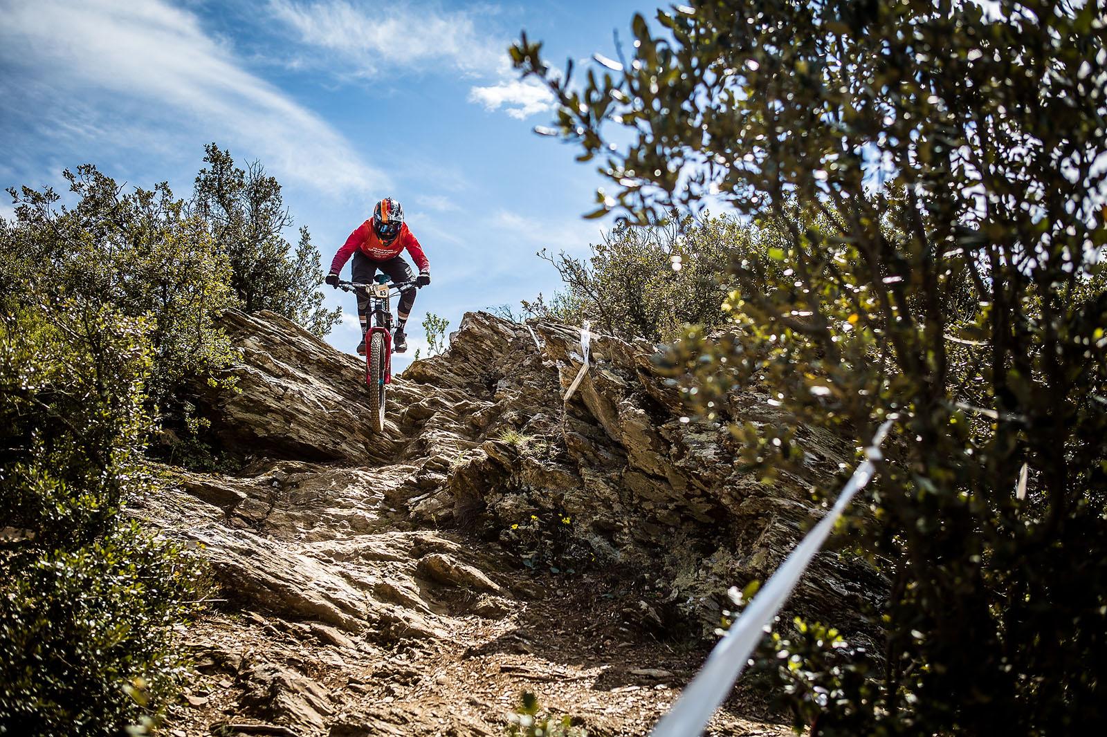 Santa Cruz Bicycles - Iago Garay at EWS 3 in France