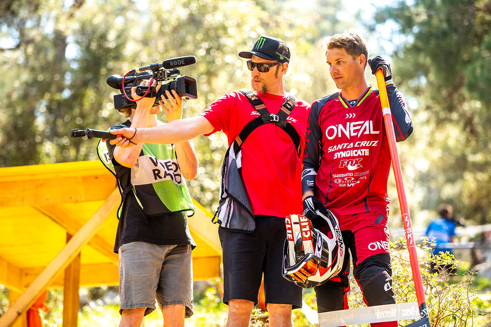 Santa Cruz Bicycles - Steve Peat and Greg Minnaar Walking the Track at the Losinj World Cup DH