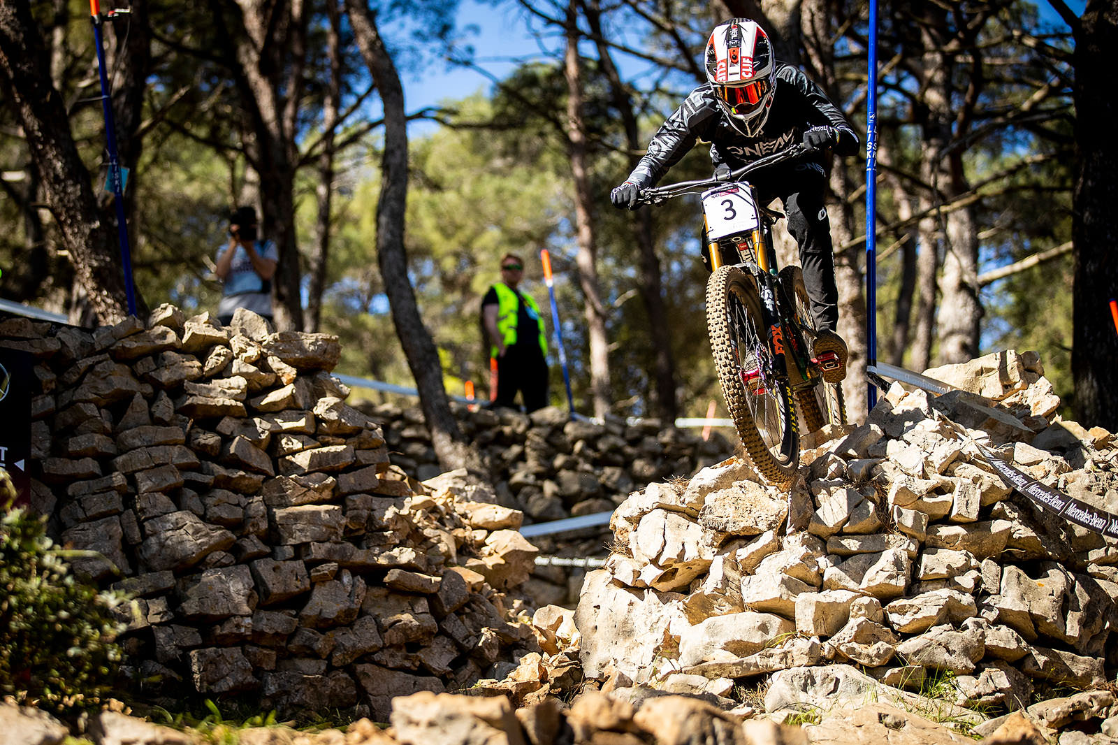 Santa Cruz Bicycles - Greg Minnaar Rolling Rocks at the Losinj World Cup DH