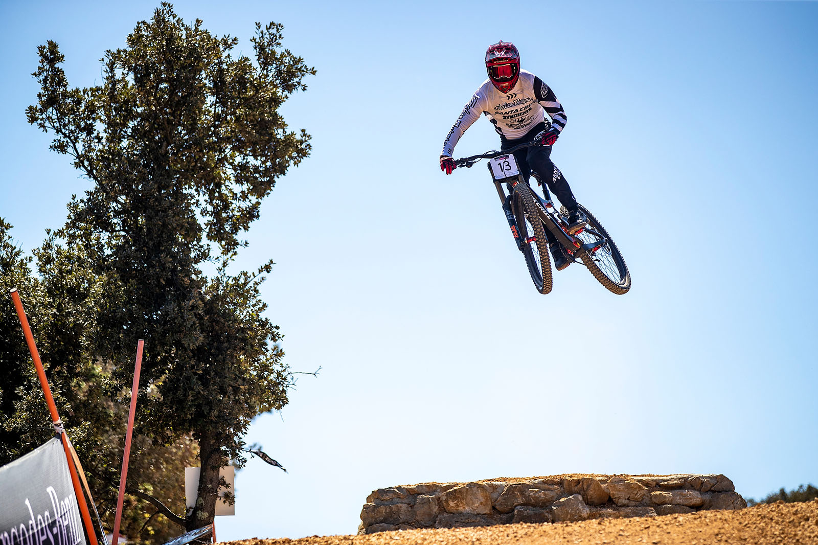 Santa Cruz Bicycles - Luca Shaw Airing Out the Jumps at the Losinj World Cup DH