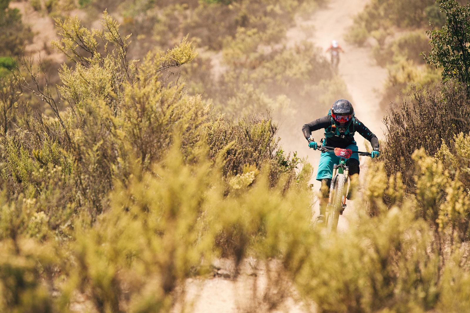 Santa Cruz Bicycles - Juliana Bicycles Team Rider Jaime Hill at Andes Pacifico Enduro 2018