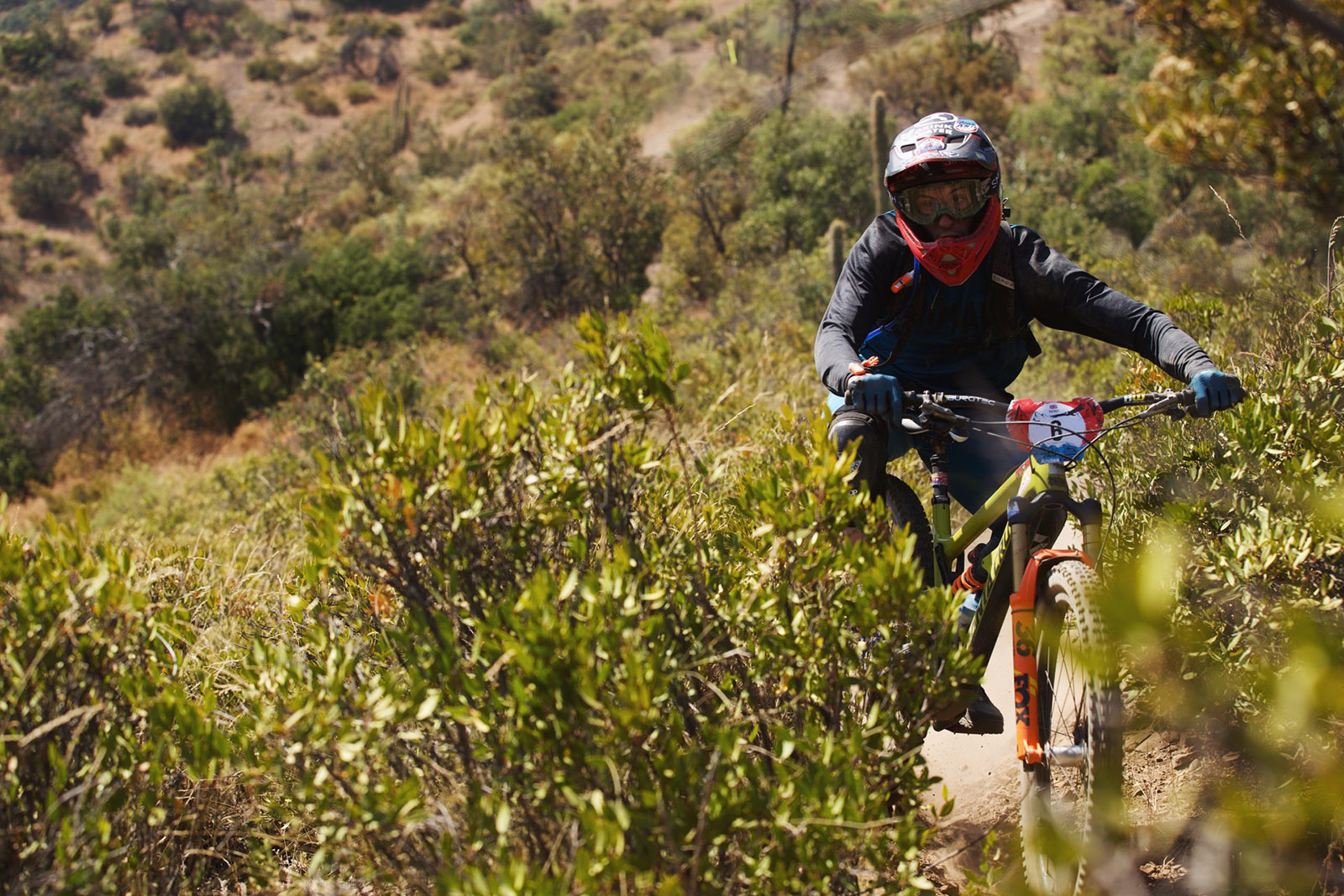 Santa Cruz Bicycles - The Rat On Course at Andes Pacifico
