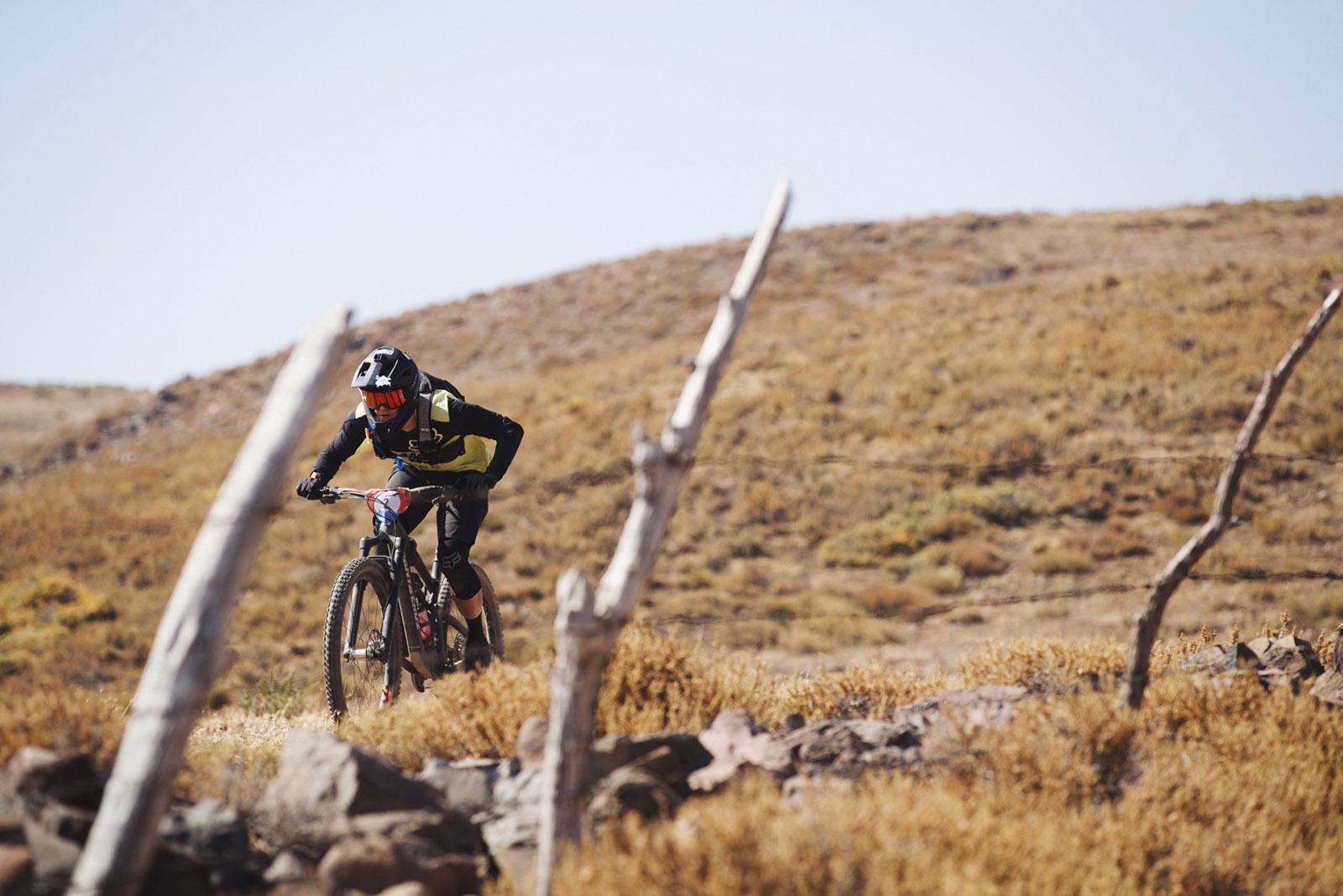 Santa Cruz Bicycles - Santa Cruz X Sram Enduro Team Mark Scott on Course at Andes Pacifico
