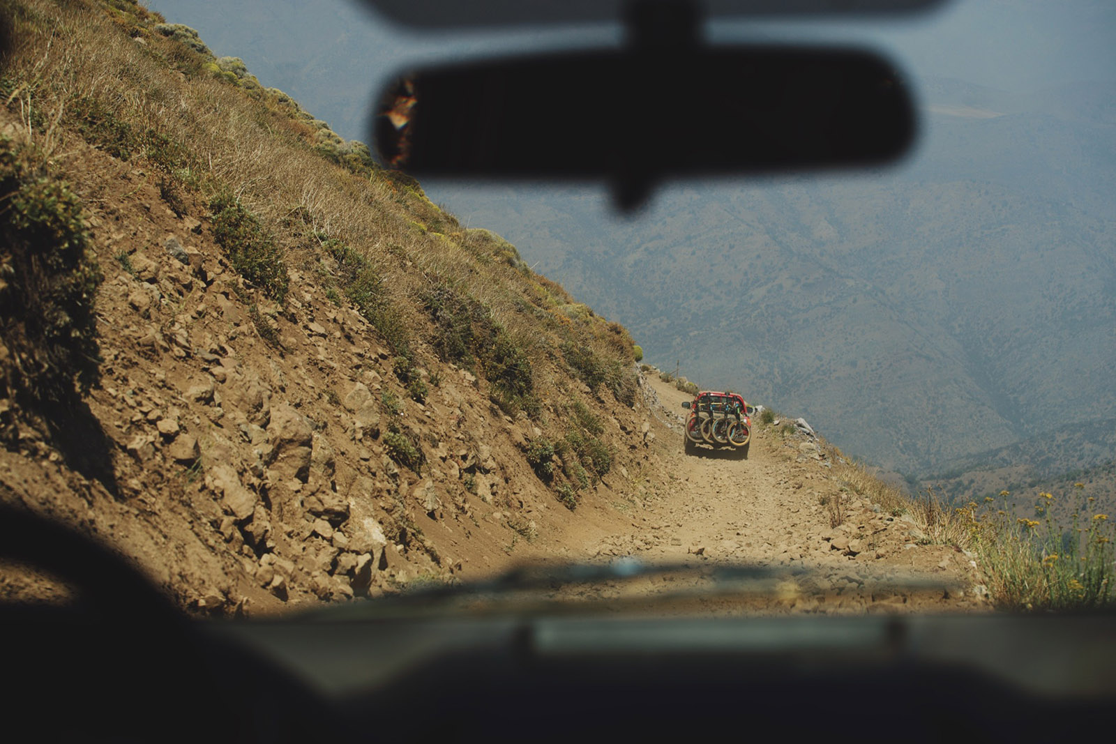 Santa Cruz Bicycles - The Shuttle Between Stages at Andes Pacifico Enduro