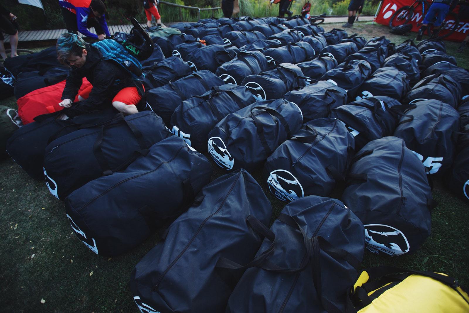 Santa Cruz Bicycles - The Daily Bag Lineup at Andes Pacifico
