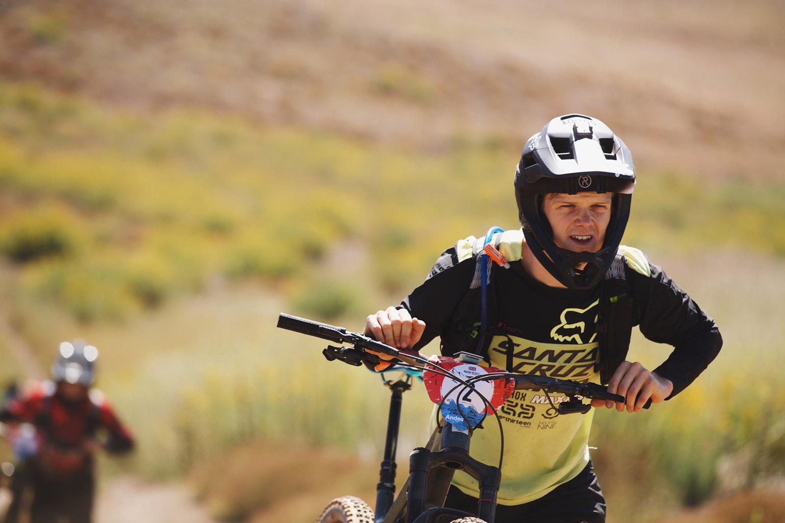 Santa Cruz Bicycles - Mark Scott at Andes Pacifico