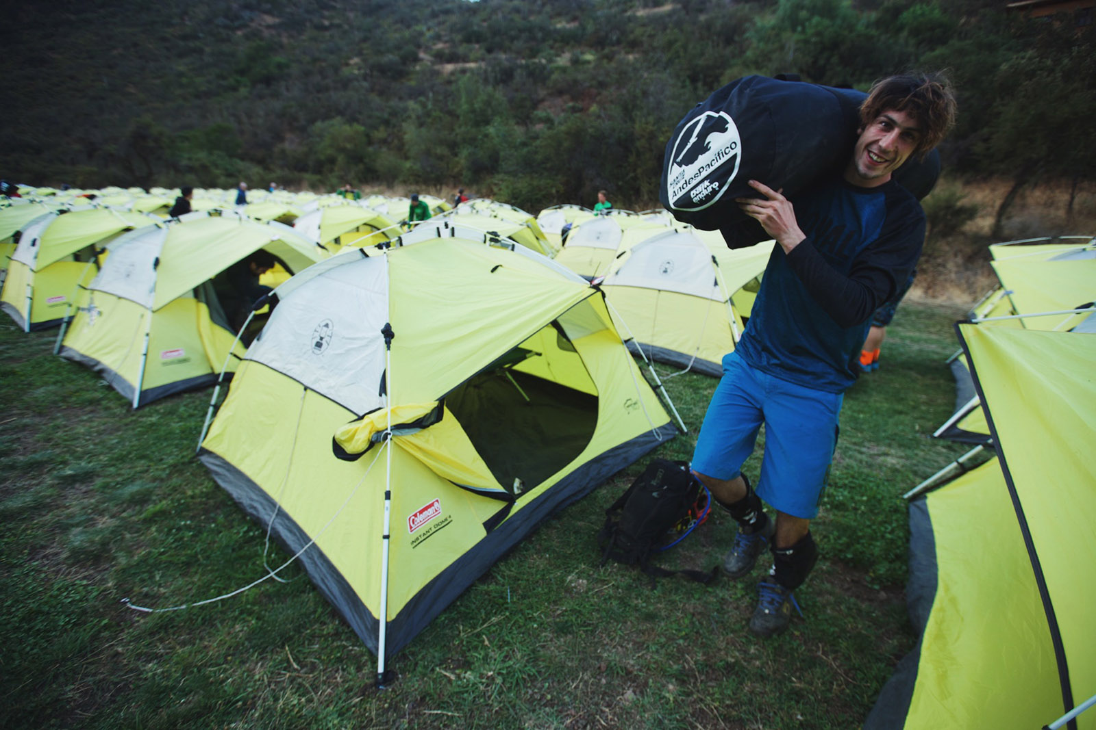 Santa Cruz Bicycles - Josh Bryceland - Ratboy Packing Up for the Day at Andes Pacifico