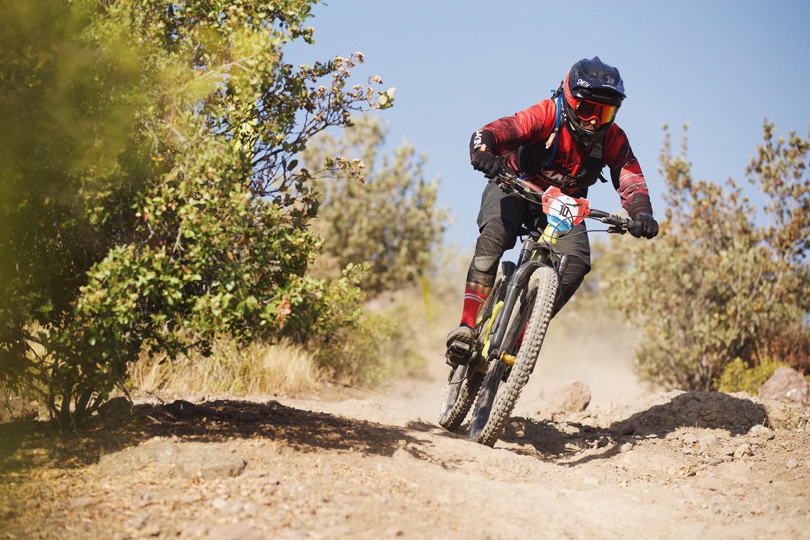 Santa Cruz Bicycles - Iago Garay of Santa Cruz X SRAM Enduro Team on Course