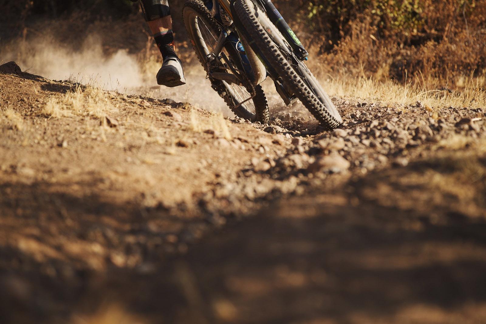 Santa Cruz Bicycles - Drifting the Antigrip at Andes Pacifico Enduro