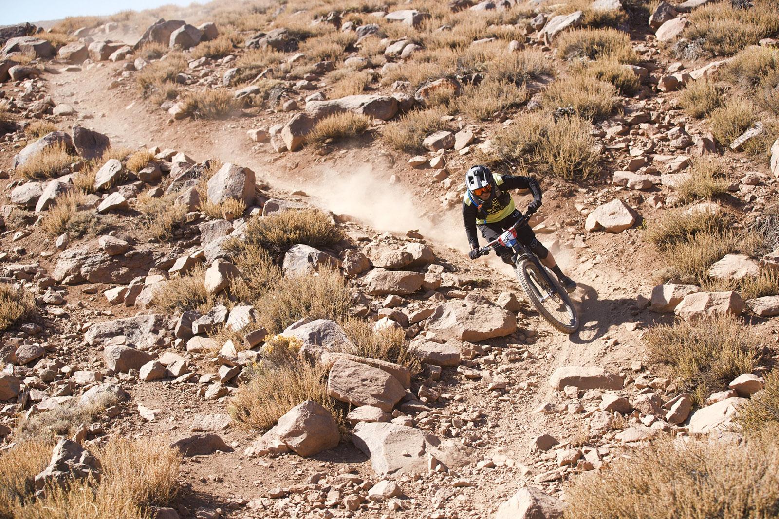 Santa Cruz Bicycles - Mark Scott at Warp Speed at Andes Pacifico