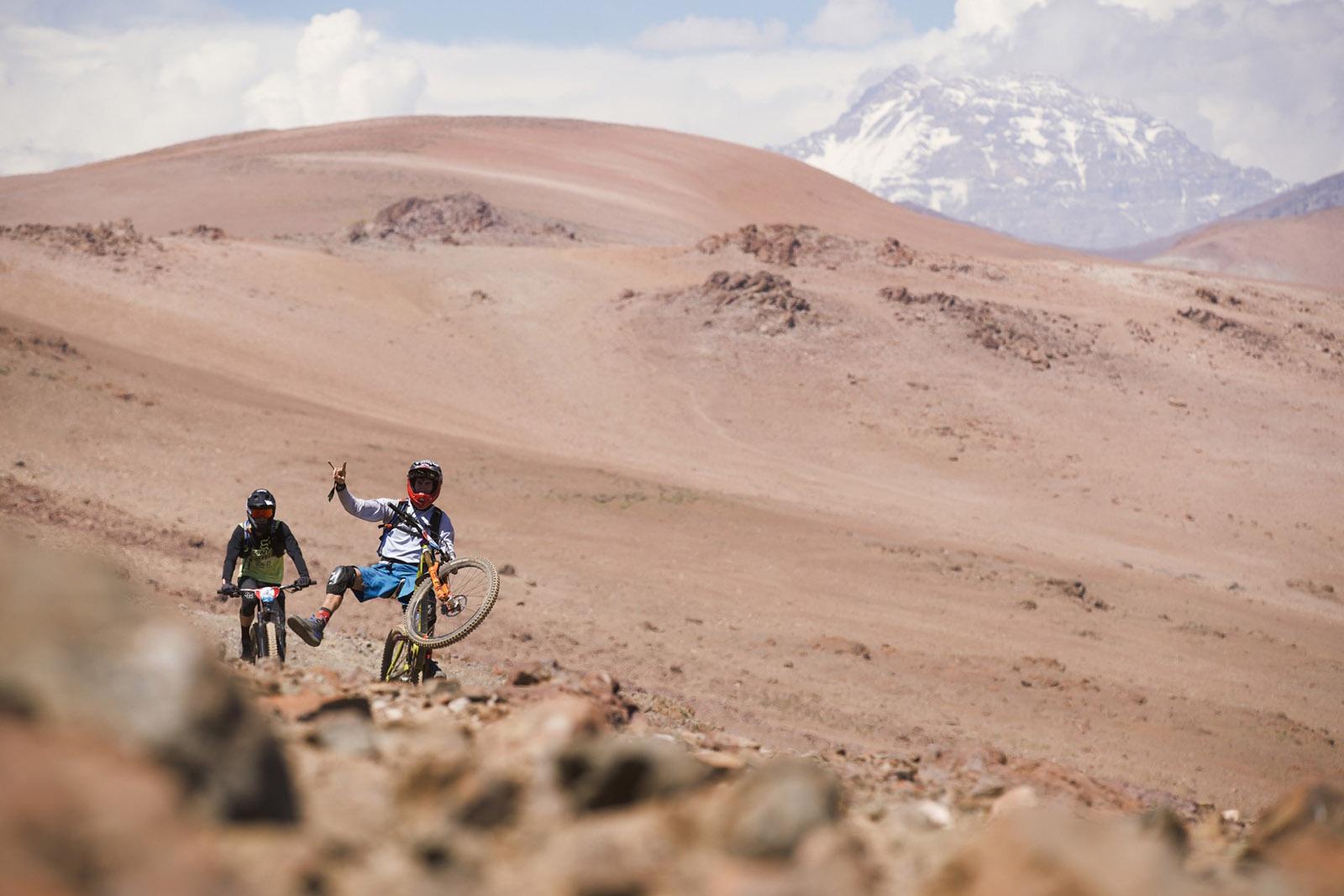 Santa Cruz Bicycles - Horns for Ratty at Andes Pacifico