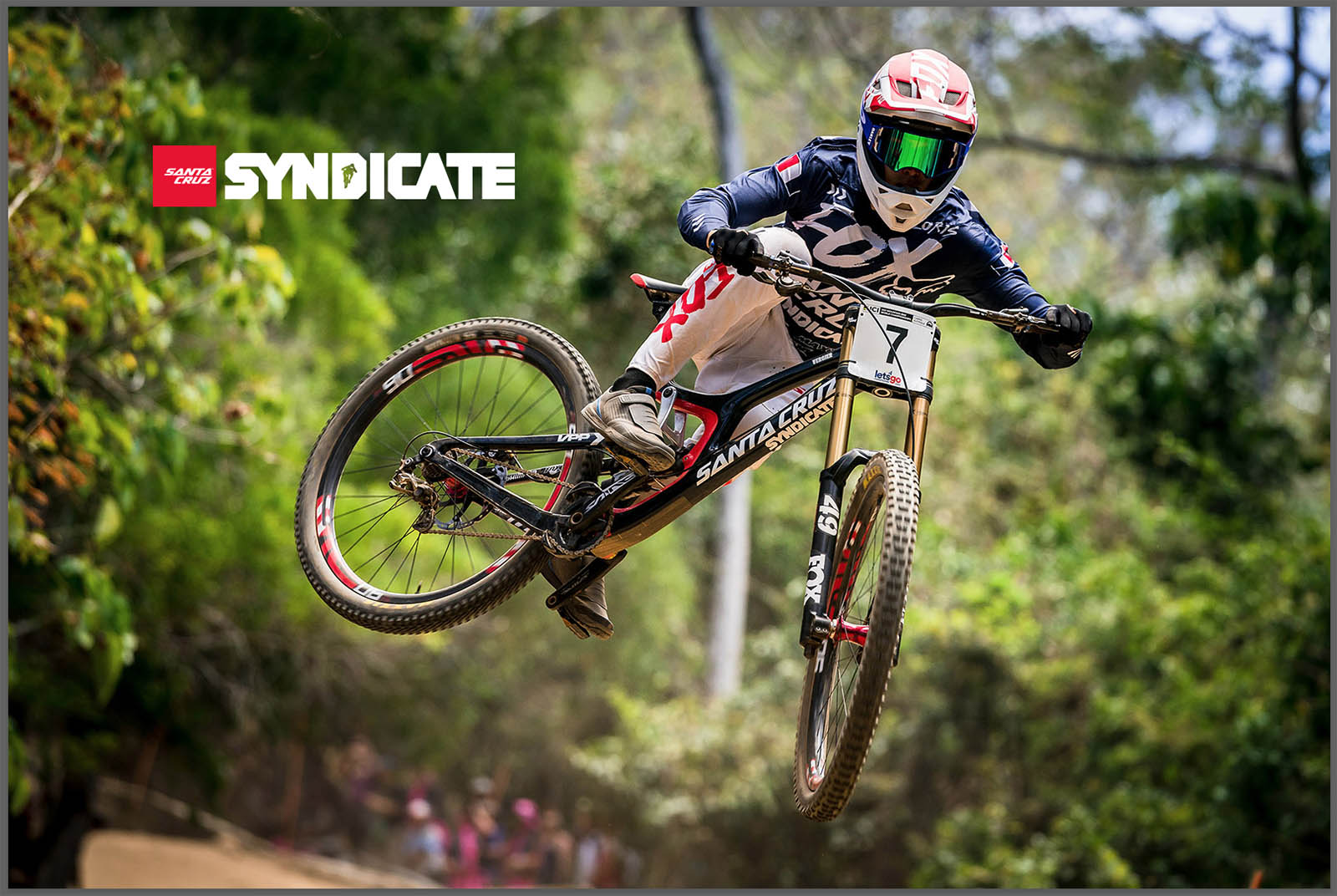 Santa Cruz Bicycles - The Syndicate's Loris Vergier at Cairns