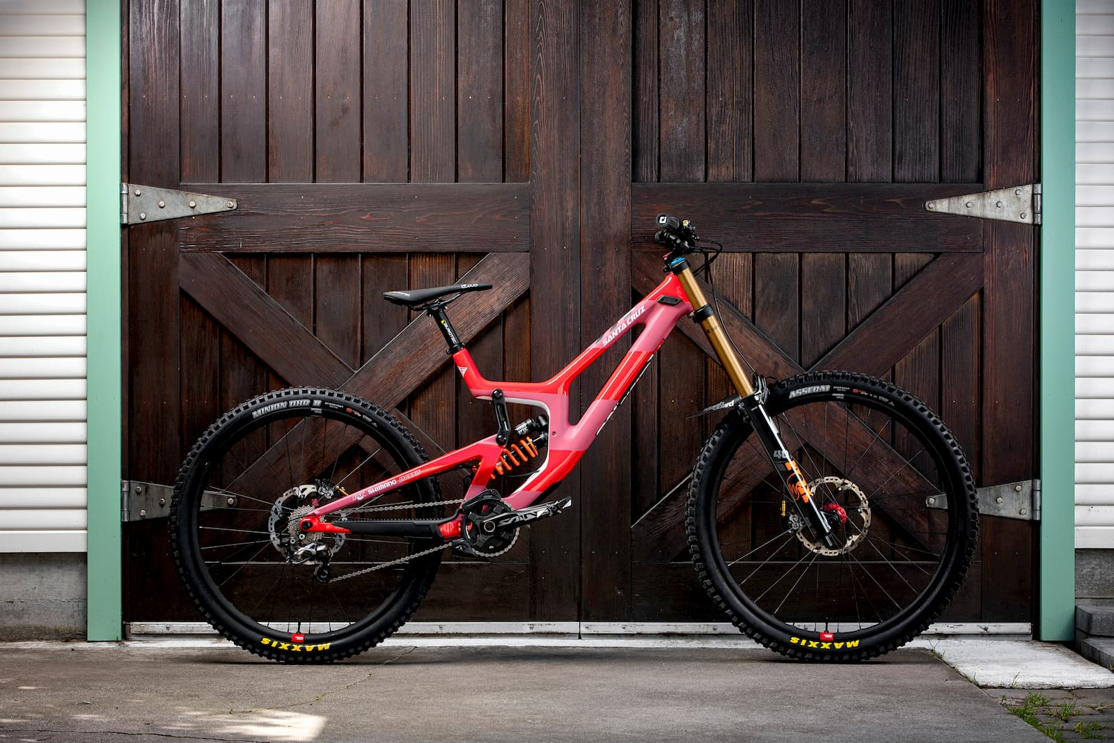 Santa Cruz Bicycles - Luca's 2020 Syndicate bike