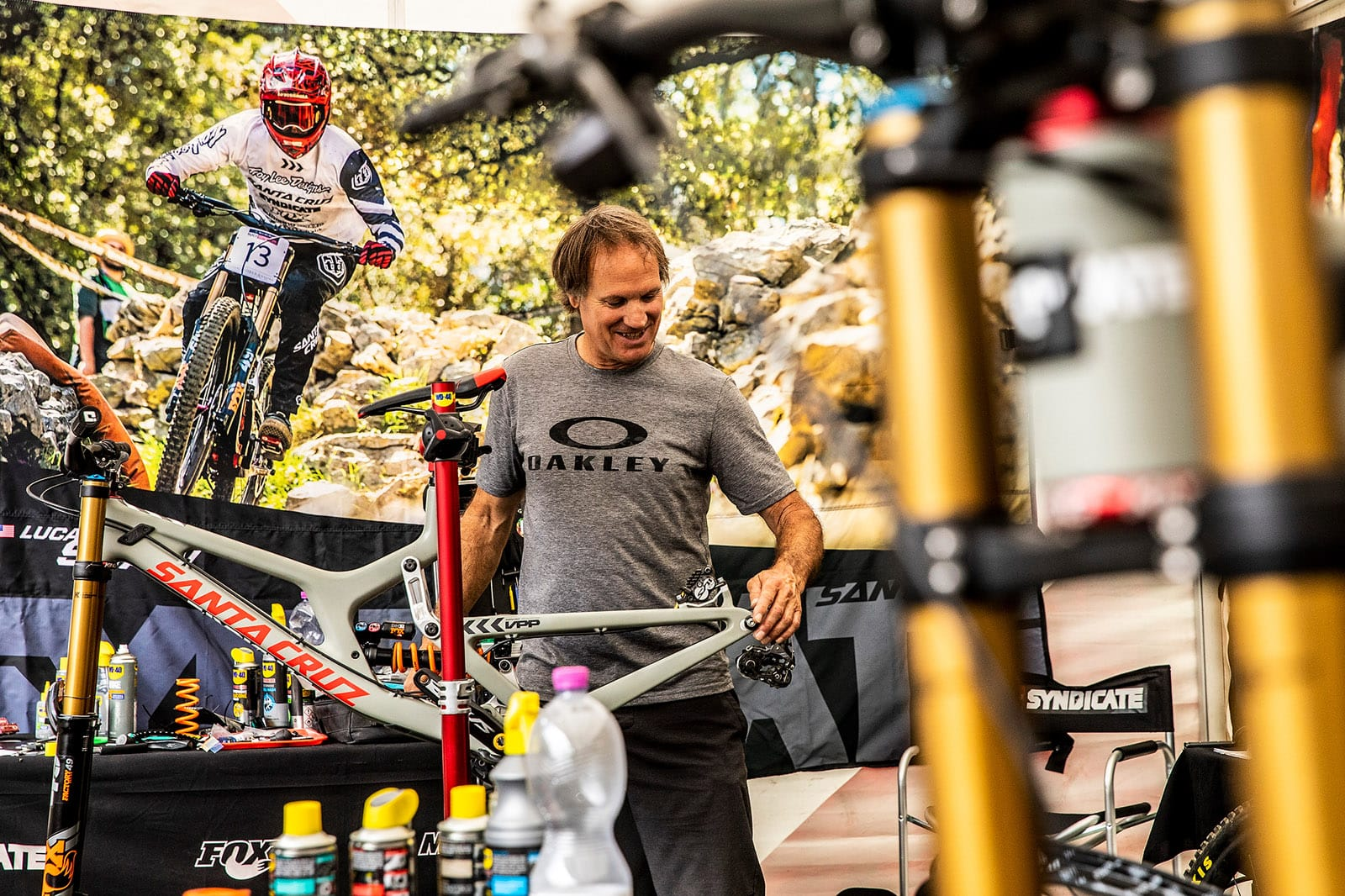 Santa Cruz Bicycles - The Syndicate at Val di Sole World Cup DH - Dougy Fresh