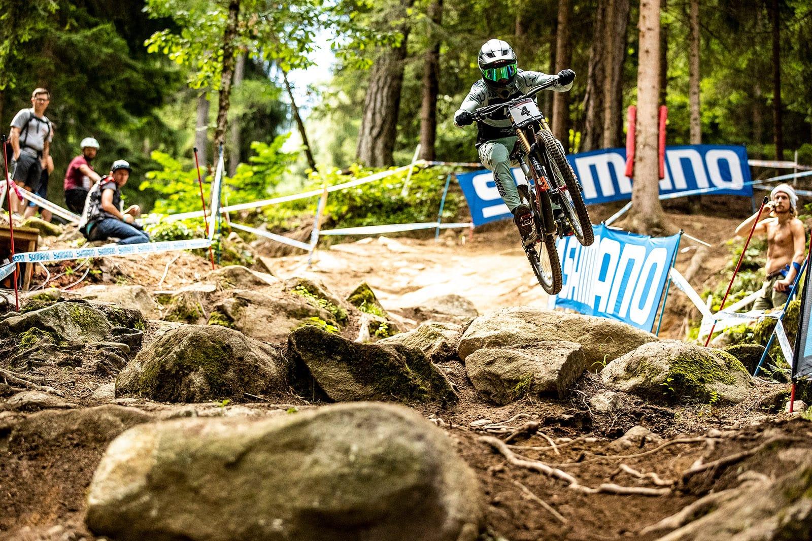 Santa Cruz Bicycles - The Syndicate at Val di Sole World Cup DH - Loris Vergier