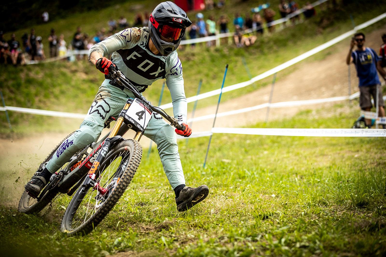 Santa Cruz Bicycles - The Syndicate's Loris Vergier at Val di Sole World Cup DH