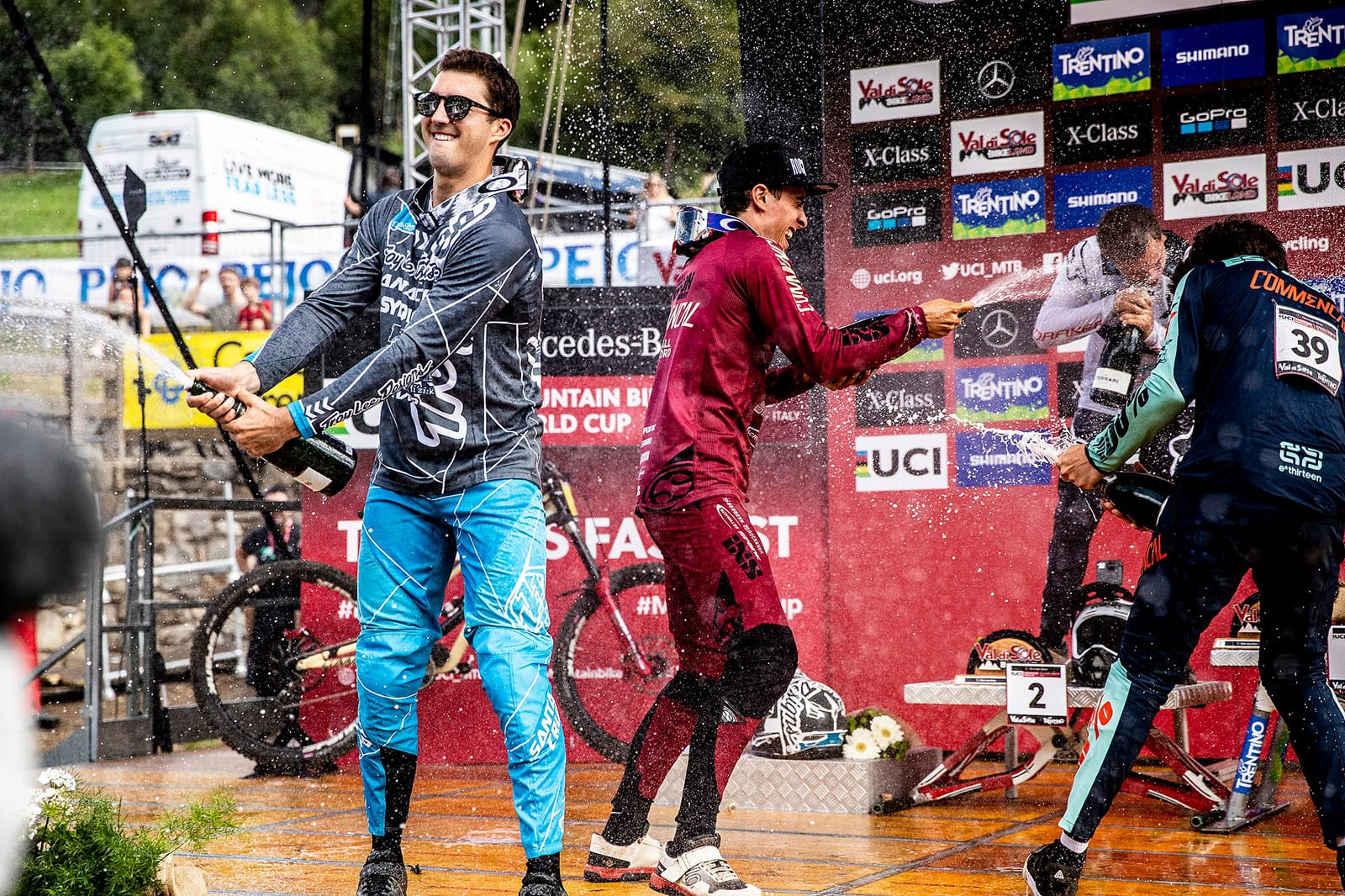 Santa Cruz Bicycles - The Syndicate at Val di Sole World Cup DH - Luca Shaw