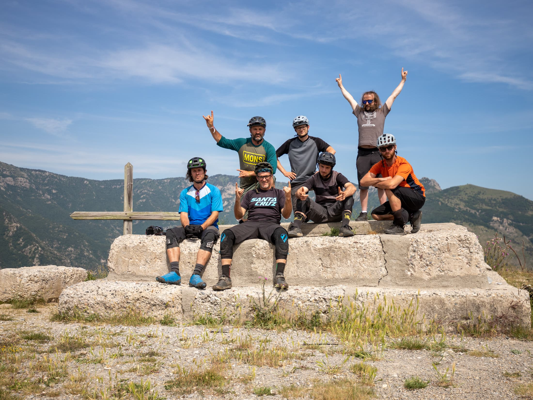 Santa Cruz Bicycles - The Squids on Day 4 of the 2019 Trans-Provence