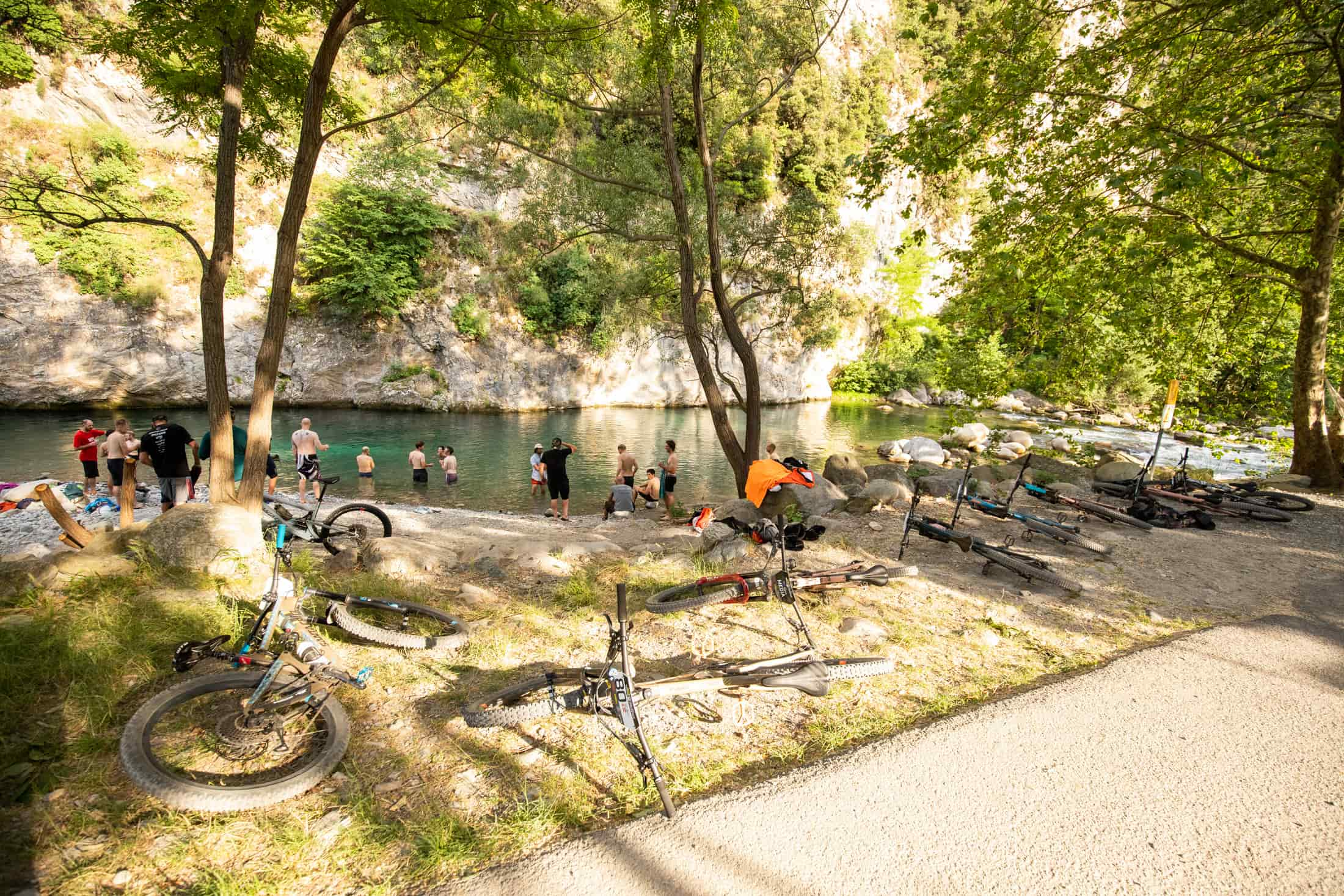 Santa Cruz Bicycles - Swimming Hole on Day 4 of the 2019 Trans-Provence