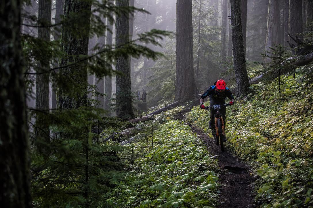 Santa Cruz at the Trans Cascadia 2017 Race in Oregon